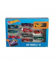 PACK 10 VEHICULOS HOT WHEELS 2017