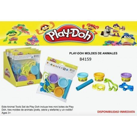 PLAY-DOH MOLDES ANIMALES