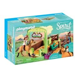 PLAYMOBIL ESTABLO LUCKY Y SPIRIT