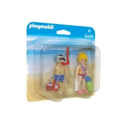PLAYMOBIL DUOPACK PLAYA REF: 9449