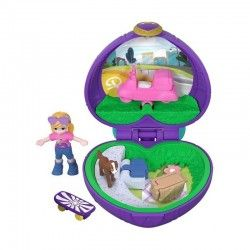 MATTEL POLLY POCKET MINI COFRE MOTO FRY30