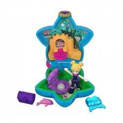 MATTEL POLLY POCKET MINI COFRE PLAYA FRY33