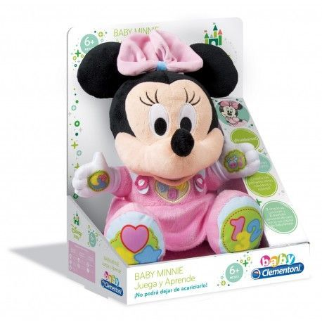 CLEMENTONI BABY MINNIE PELUCHE EDUCATIVO 65192