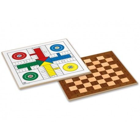 TABLERO 40X40X1 PARCHIS-DAMAS