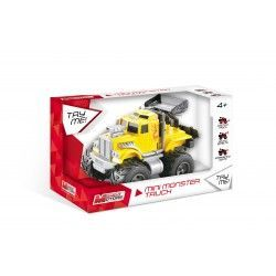 VEHICULO FRICCION MINI MONSTER TRUCK 15 CM MONDO 51186