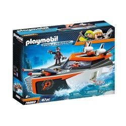 PLAYMOBIL SPY TEAM TURBOSHIP 70002