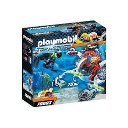 PLAYMOBIL SPY TEAM TURBOSHIP 70003