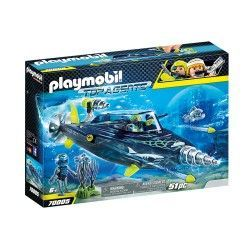 PLAYMOBIL TEAM S.H.A.R.K. PERFORADORA 70005