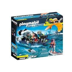 PLAYMOBIL S.H.A.R.K NAVE CON ARPON 70006
