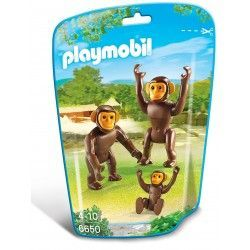 PLAYMOBIL CHIMPANCES 6650