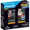 PLAYMOBIL BACK THO THE FUTURE MARTY MCFLY Y DR. EMMET BROW