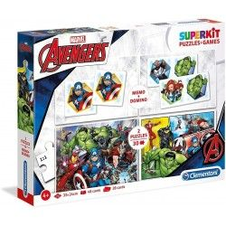PUZZLE CLAMENTONI PZAS KIT 2X30+ME+DO AVENGERS