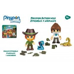 PINYPON ACTION WILD.PACK 2 FIGURAS