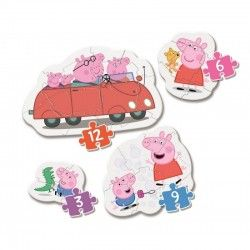 PUZZLE CLEMENTONI MY FIRST PUZZLE 3 6 9 PEPPA PIG