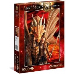 PUZZLE CLEMENTONI 1000 PZAS ANNE STOKES- INNER STRENGHT